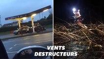 Les images des dégâts de la tempête Ciara en France