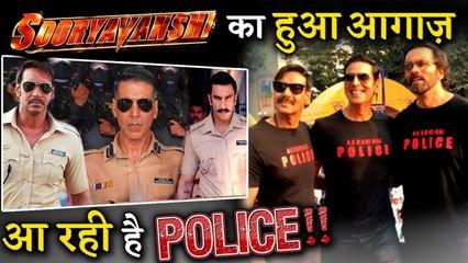 It Seems Akshay Kumar And Rohit Shetty Kick Starts SOORYAVANSHI's Promotions!