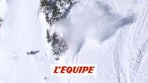 La chute de Wadeck Gorak à Kicking Horse - Adrénaline - Ski freeride
