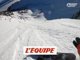 Le run de Victor De Le Rue à Kicking Horse - Adrénaline - Snowboard freeride