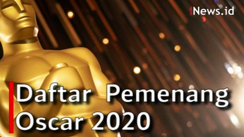 Video Para Pemenang Oscar 2020, Parasite Borong Piala
