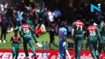 Watch: India and Bangladesh players involved in ugly fight after U19 World Cup final