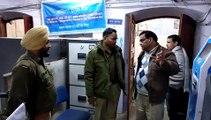 कैराना: एसपी ने किया बैंकों का निरीक्षण, दिए सुरक्षा संबंधी निर्देश