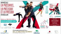 CSA 2020 -  Pré-Novice Dames prog. Libre, Senior Danse prog. Libre & Senior Dames prog. Court