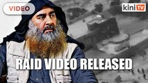 US releases dramatic Baghdadi raid video