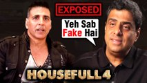 Akshay Kumar REACTS To Housefull 4's FAKE Box Office Reports EXPOSED