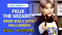 [Pops in Seoul] K-pop Idols' Halloween Costumes! (feat. Felix)