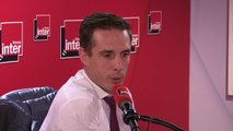 """Jean-Baptiste Djebbari, secrétaire d'État aux Transports : """"Guillaume Pepy a fait beaucoup évolué l'entreprise. C'est un amoureux de la SNCF, qui s'est engagé corps et âme, chaque minute, pour cela je le remercie"""""""