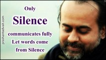 Acharya Prashant on Raman Maharishi: Only Silence communicates fully; let words come from Silence