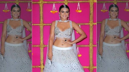 Nia Sharma's Lehenga catches fire at Ekta Kapoors diwali party