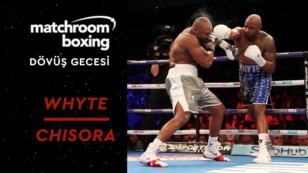 Matchroom Boxing Night | Dillian Whyte vs Dereck Chisora