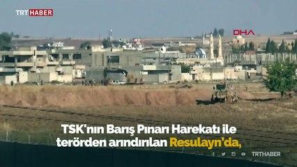 Rasulayn'da teröristlerin tuzakladığı 250 kilo patlayıcı imha edildi