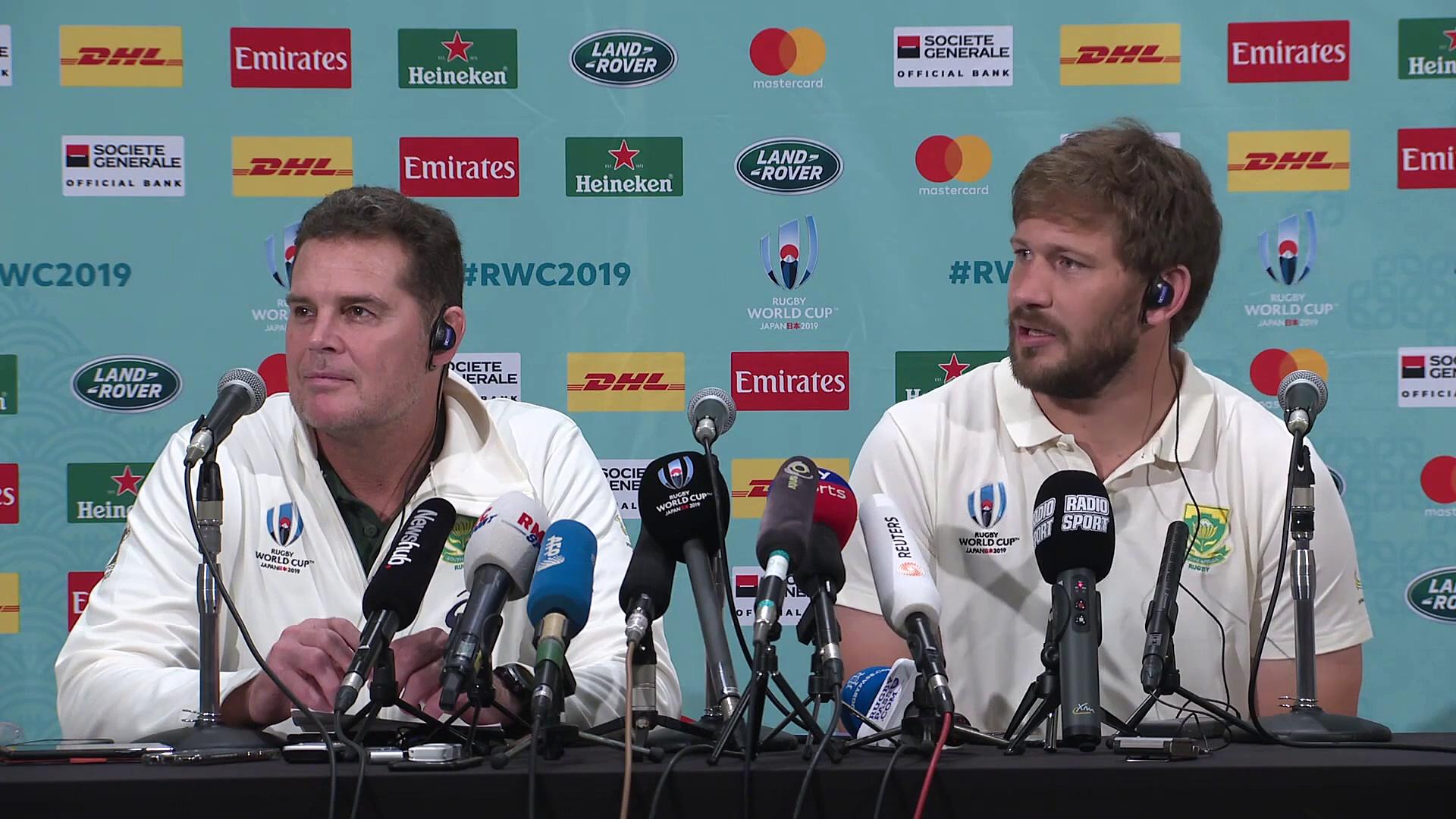Kolisi & Steyn on Rugby World Cup 2019 final v England