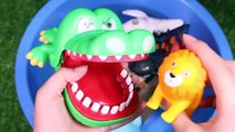 Learn Colors With Wild Animals Baby Mom Toys Sharks In Blue Water Tub Toys For Kids And Toddlers