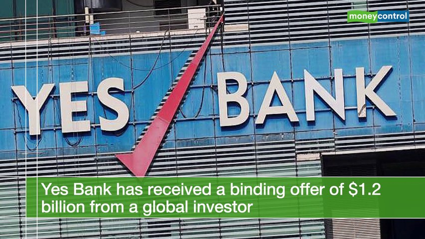 Yes Bank gets binding offer of $1.2 bn from global investor, stock surges 30%
