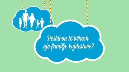 AF Creative | SOS Fshatrat e Femijëve Shqiperi -  Rëndësia e Familjes Kujdestare