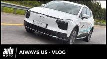 SUV électrique chinois Aiways U5 : premières impressions au volant - VLOG