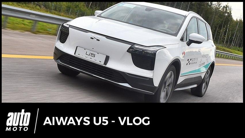 SUV électrique chinois Aiways U5 : premières...