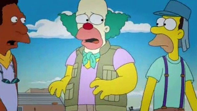 The Simpsons Season 30 Episode 14 The Clown Stays in the Picture