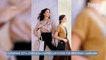 Watch Catherine Zeta-Jones and Daughter Carys Dance Through Rome in New Fendi Campaign