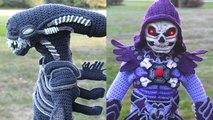 Mom Crochets Masterful Halloween Costumes For Her Boys