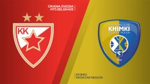 Crvena Zvezda mts Belgrade - Khimki Moscow Region Highlights | Turkish Airlines EuroLeague, RS Round 6