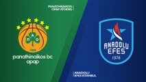 Panathinaikos OPAP Athens - Anadolu Efes Istanbul Highlights | Turkish Airlines EuroLeague, RS Round 6