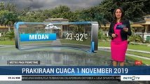 Prakiraan Cuaca Kamis 1 November 2019