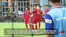 Hậu vệ Thanh Thịnh quyết tâm cùng U22 Việt Nam dành huy chương vàng SEA Games 30 | VFF Channel