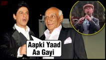 Shah Rukh Khan Remembers Yash Chopra, Gets Emotional Over A Man Playing Violin On The Road
