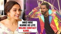 Deepika Padukone TURNS Ranveer Singh's Manager For Weddings, Parties, Dance | WATCH