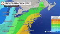 Cold air and rain for Halloween