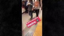İlk kez metroya binen Yeliz Yeşilmen sosyal medyada olay oldu