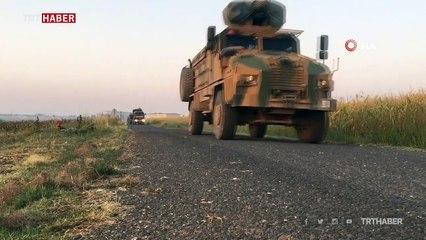 Devriye öncesi sınır hattına tank sevkiyatı