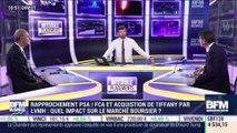 Rapprochement PSA/FCA et acquisition de Tiffany par LVMH: quel impact sur le marché boursier ? - 01/10