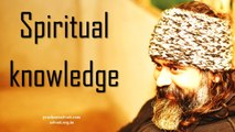 Acharya Prashant on Ishavasya Upanishad - There is nothing called spiritual knowledge