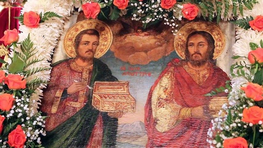 Με λαμπρότητα η γιορτή των Αγίων Αναργύρων στη Δαύλεια