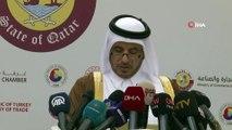 Cumhurbaşkanı Yardımcısı Oktay: 'Yaşadığımız süreç birçok ülkenin terör örgütlerine ilişkin iki yüzlü tavrını açıkça ortaya koymuştur. Bu tavır, Katar'a karşı Arap dörtlüsü tarafından uygulanan haksız ambargo ve yaptırım kararlarının arkasın