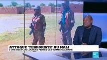 """Attaque """"Terroriste"""" au Mali : l'une des plus lourdes pertes de l'armée malienne"""