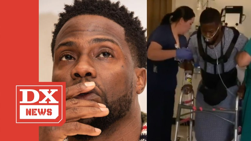 Kevin Hart Breaks Instagram Silence With Emotional Recovery Video