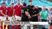 Coupe du monde de rugby : les All Blacks remportent la petite finale avec la manière