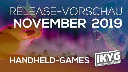 Games-Release-Vorschau - November 2019 - Handheld