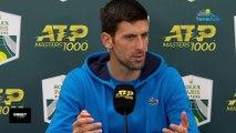 "Rolex Paris Masters 2019 -  Novak Djokovic on Grigor Dimitrov: ""His setback may be his weakness"""
