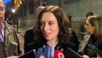 Ayuso dice que la celebración de la Cumbre del Clima en Madrid será un reto