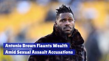 Antonio Brown Has Plenty Of Money
