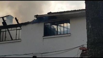 Incêndio restaurante Alto da XV