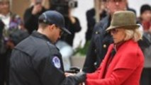 Jane Fonda Arrested for Fourth Week in a Row Along With Rosanna Arquette, Catherine Keener | THR News