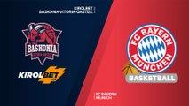 KIROLBET Baskonia Vitoria-Gasteiz - FC Bayern Munich Highlights | Turkish Airlines EuroLeague, RS Round 6