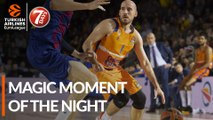 7DAYS Magic Moment of the Night: Quino Colom, Valencia Basket