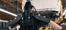 Nissan Spain pioneering exoskeleton project for production lines